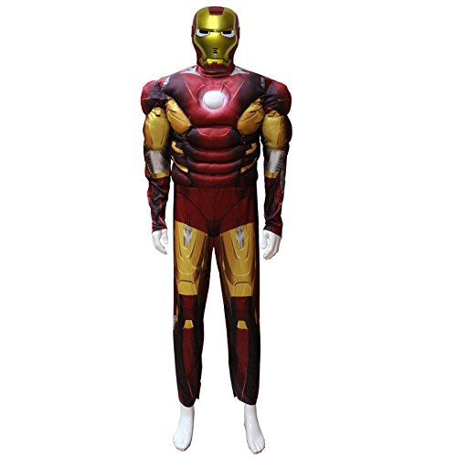 on Man Cosplay paar Uniformen (Ironman-halloween-kostüm)
