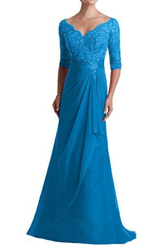 Victory Bridal - Robe - Trapèze - Femme bleu ciel