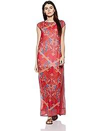 global desi Women's Shift Maxi Dress