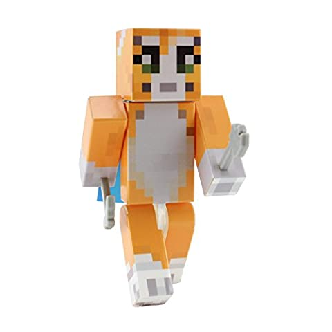 Orange Cat Action Figure Toy by EnderToys [Not an Official