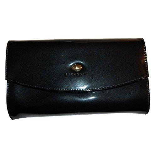 Clutch Abendtasche Hexagona Gala Tasche in Bronze schwarz