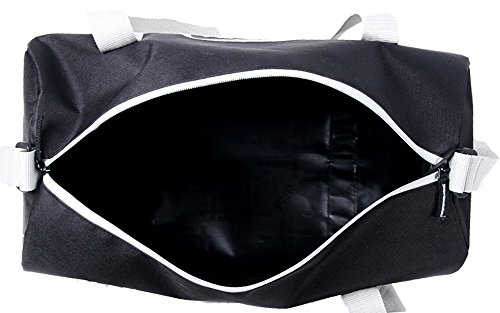 Salute Hunk Polyester 19 Ltrs Black Gym Bag