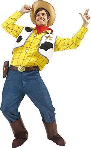 Kostüm Lizenz woody, (Für Herren Woody Kostüm)