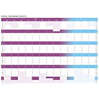 New - Tax Planner - 2020/21 Fiscal Wall Planner (Purple, Giant 85 x 120cm)