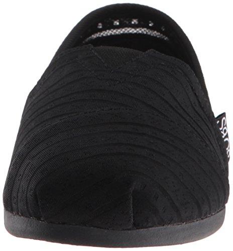 Bobs Aus Skechers Kühlung Luxus Schuh Urban Rose Black/Black