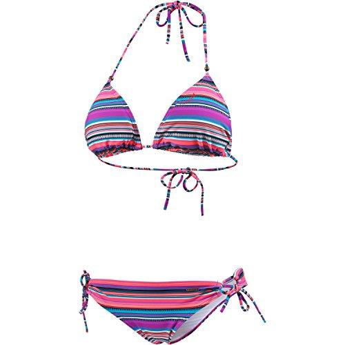 "Damen Triangle-Bikini ""Bonbini"" beere/blau/bunt"