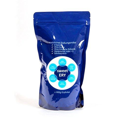Natürliche Zucker Ersatz (sweetERY 800g Erythritol / Erythrit natürlicher Zucker-Ersatz (1))