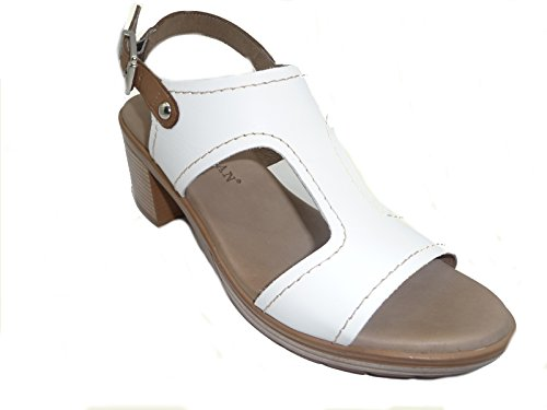 GOMEZ , Tongs pour femme blanc blanc 35 Blanc