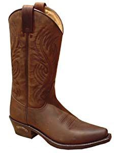 Sendra brown oiled leather Cowboy Boots