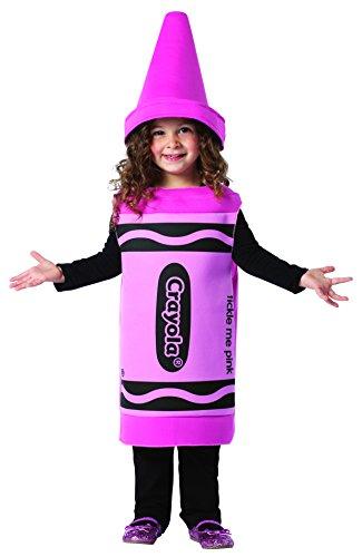 Tickle Me Pink Crayola Child Toddler Costume - Crayola Kostüm