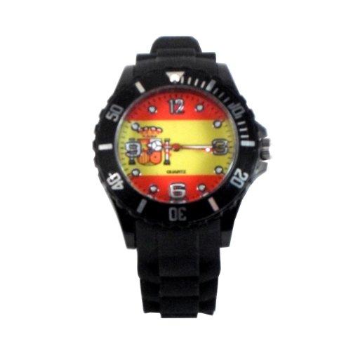 montre-drapeau-watch-color-bracelet-silicone-taille-adulte-espagne