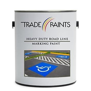 Heavy Duty Road Line Car Park Marking Paint 5 Litre White