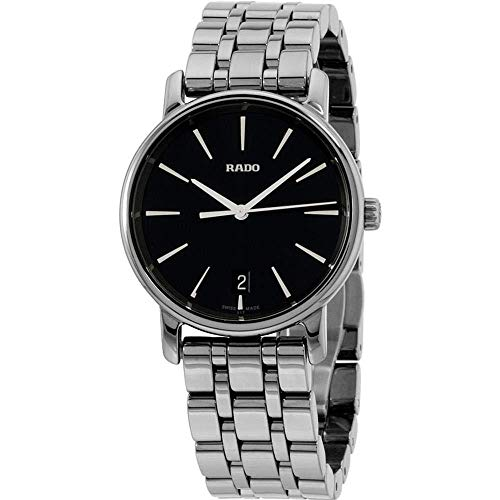 Rado DiaMaster Damen-Armbanduhr 33mm Armband Keramik Grau Batterie R14064177
