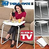 NEW TABLE MATE ll PORTABLE ADJUSTABLE FOLDING TABLE, LOUNGE, BEDROOM FURNITURE