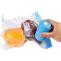 Molie Bomba de aire eléctrica portátil Bomba de vacío multifuncional recargable de doble uso Bolsa de almacenamiento extractor de aire para bolsa de compresión de viaje Vaso de vidrio al vacío 52*90mm