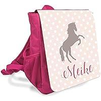 Kinder Rucksack in Pink I Pferd