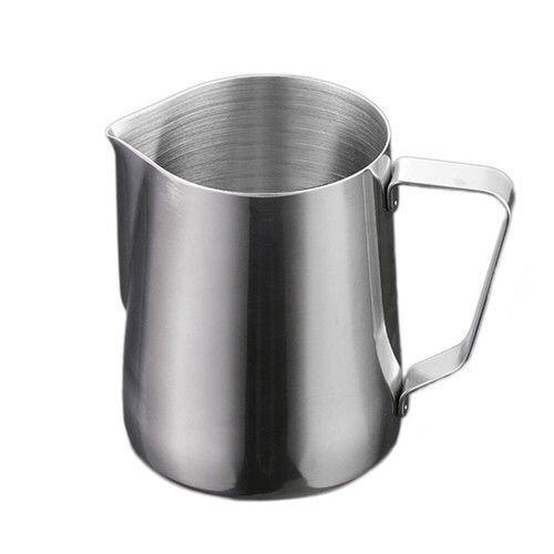 Zimo® Pot à Lait Tirer Fleur Cup Tasse de cafe En Acier Inoxydable Pot à Lait en Inox