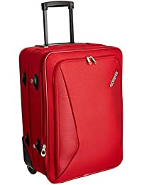 American Tourister Columbia Polyester 55 cms Red Softsided Carry-On (AMT COLUMBIA UR 55CM RED)