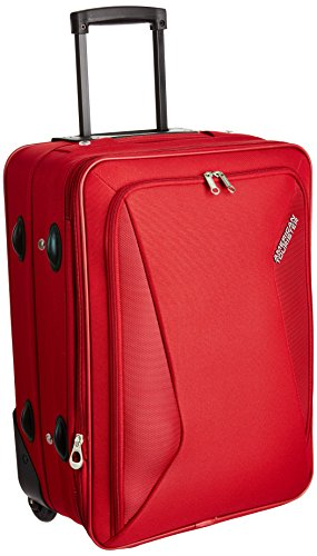 American tourister Columbia Polyester 38 cms Red Softsided Carry-On (AMT COLUMBIA UR 55CM RED)