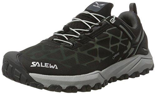 SALEWA Multi Track Gore-Tex, Scarpe da Arrampicata Basse Donna, Multicolore (Black/silver), 40 EU