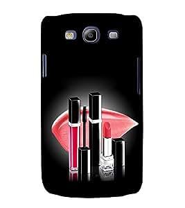 printtech Girl Makeup Back Case Cover for Samsung Galaxy S3 / Samsung Galaxy S3 i9300