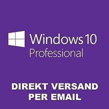 Windows 10 Professional 32-64 Bit SP1 Deutsch OEM Vollversion Win 10 Pro WOW