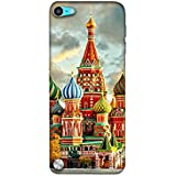 Casotec Russia Mosque 3D Printed Hard Back Case Cover for Apple iPod Touch 5th Gen