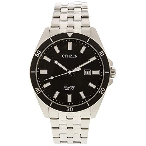 citizen Analog Black Dial Men's Watch-BI5050-54E