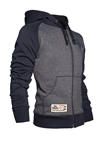 Lonsdale London Herren Sweatjacket 113333 SLOUGH Hooded Zipsweat navy (3008)