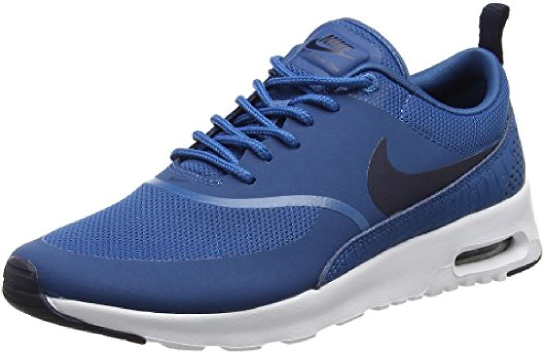 Nike Air Max Thea 599409 Damen Laufschuhe, Blau (Industrial Blue/Obsidian-White), 38.5 EU