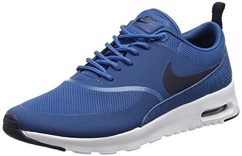 Nike Air Max Thea, Chaussures de Running Femme, Bleu (Industrial Blue/Obsidian/White), 38.5 EU
