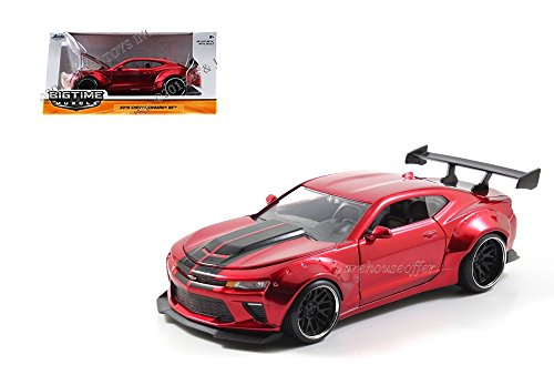 Image of JADA 1:24 W/B BIG TIME MUSCLE - 2016 CHEVROLET CAMARO SS WIDE BODY WITH GT WING - 98136-MJ