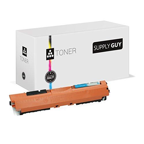 Preisvergleich Produktbild Toner kompatibel zu HP 130A CF351A Cyan passend für Color LaserJet Pro MFP M-176n M-177fw