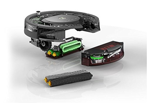iRobot Roomba 871 Staubsaug-Roboter (mit Fernbedienung, 50% stärkere Reinigungsleistung) schwarz/grau - 5