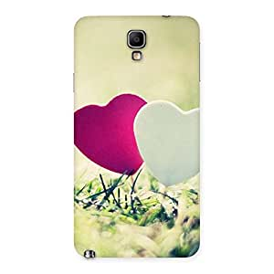 Special Couple Heart Back Case Cover for Galaxy Note 3 Neo