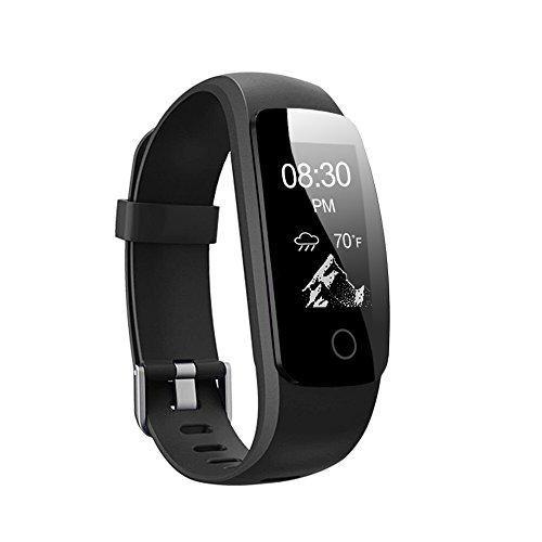Fitness Tracker HR, Letsfit Fitness Armband mit Pulsmesser, IP67 Wasserdicht smart Aktivitätstracker Schrittzähler, Kalorienzähler Sport Uhr mit Schlafanalyse Fitness Uhr für iOS und Android