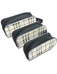 Travelling Pouch.Waxed Canvas Pouch Multipurpose Pouch Contains 3 Sets Of Pouches With Different Sizes In One...