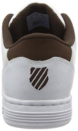 K-swiss Lozan Iii, Herren Sneakers Weiß (white/chestnut)