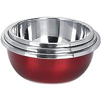 Lavabo - 3pcs Multifuncional Cocina de acero inoxidable Arroz Frutas Verduras Lavabo Set