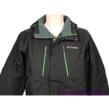 Columbia-Alpine a animales, jacket-Cazadora de esquí, color negro, talla XL