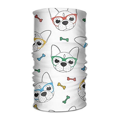 Osmykqe Täglicher Mode-Kleiner Haustier-Hundekatze-Bandana-Kragen-stilvolle Bulldoggen-Gläser