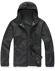 chaqueta de lluvia hombre Sannysis cardigans deportivas baratos chaquetas impermeables y gabardinas ropa impermeable chaqueta de protección impermeable para motocicleta hombre