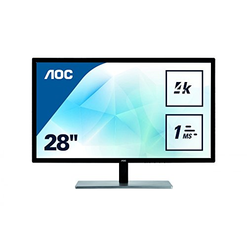 AOC U2879VF 28 Inches 4K LED Monitor - Black UK
