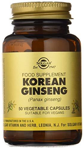Solgar Ginseng Coreano Cápsulas vegetales - Envase de 50