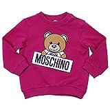 Moschino Baby Girl Felpa Fucsia in Cotone Mod. M5F00TLDA0351665 6/9M