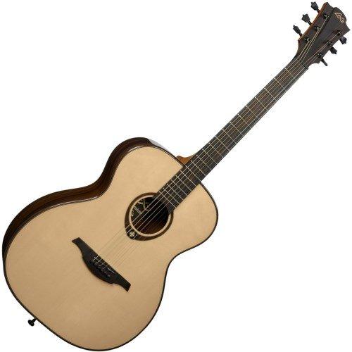 Guitarra acustica lag auditorium solid spruce