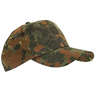 US Army Outdoor Kids Baseball Cap made of durable rip stop Hat Children in different colors One size fits all (Camouflage)