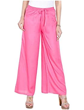 Indian Handicrfats Export Sizzlacious Regular Fit Women's Pink Trousers