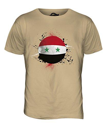 CandyMix Syrien Fußball Herren T Shirt Sand