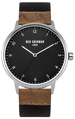 ben-sherman-orologio-da-polso-analogico-uomo-tessuto-grigio